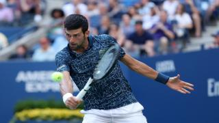 Novak Djokovic defeated Kei Nishikori, the 21st seed from Japan, 6-3, 6-4, 6-2 in Friday's second semifinal, booking his spot in the U.S. Open finals for the eighth time in his career.